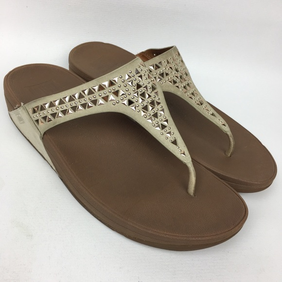 8918f9651a46 Fitflop Shoes - FITFLOP Sz 9 Suede Thong Flip Flops Sandals